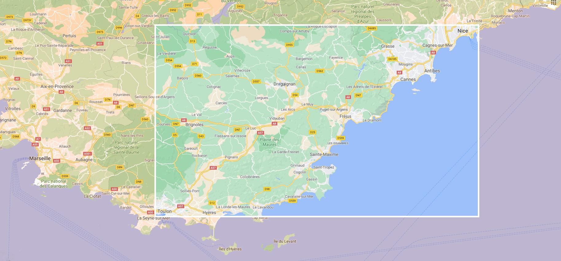 Zone d'activité - Sud de la france